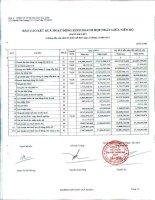 Báo cáo tài chính hợp nhất quý 2 năm 2013 - Công ty Cổ phần Sản xuất Thương mại May Sài Gòn