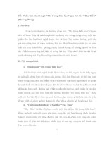 """Phân tích thành ngữ """"Thi trung hữu họa"""" qua bài thơ """"Tây Tiến"""" (Quang Dũng)"""