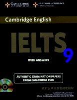 Cambridge IELTS 9 full book