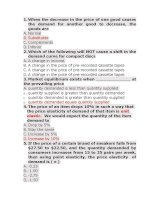 QUIZ AND ANSWER FOR MICRO AND MACRO ECONOMIC