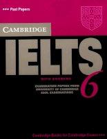 IELTS Cambridge IELTS 6 (real exam papers)