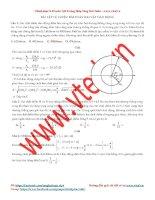bài toán 2 vật dao động cùng tần số khác tần số có đáp án
