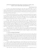 ĐÁNH GIÁ CHÍNH SÁCH THỊ THỰC DU LỊCH CỦA VIỆT NAM  TRONG TIẾN TRÌNH HỘI NHẬP QUỐC TẾ