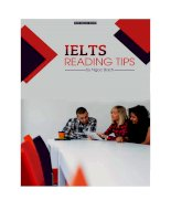 IELTS reading tips by ngoc bach