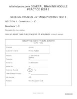 general training question paper test 6
