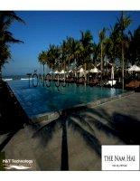 Thuyết trình môn marketing dịch vụ phân tích hoạt động marketing mix của the nam hải resort