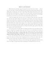 Tiểu luận Mâu thuẫn biện chứng và những biểu hiện của nó trong quá trình chuyển sang nền kinh tế thị trưởng ở Việt Nam