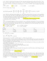 Các câu hỏi thực hành vật lý 12 thường gặp trong đề thi tốt nghiệp