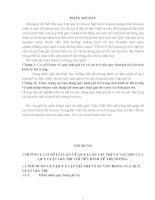 Tiểu luận quy luật giá trị và vai trò của quy luật giá trị với nền kinh tế thị trường