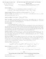 Đề thi THPT quốc gia môn toán năm 2016(có đáp án của bộ)