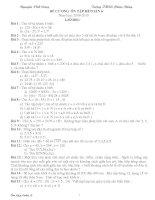 Đề cương ôn tập hè môn toán cơ bản lớp 6