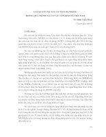 GIẢI QUYẾT NỢ XẤU CÓ TÍNH HỆ THỐNG TRONG QUÁ TRÌNH TÁI CƠ CẤU NỀN KINH TẾ VIỆT NAM