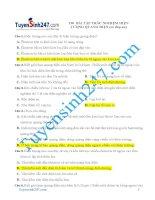 190 bai tap trac nghiem hien tuong quang dien co dap an (1)
