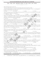 bài tập trắc nghiệm nhôm và hợp chất của nhôm