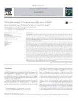 Value chain analysis of the aquaculture feed sector in egypt
