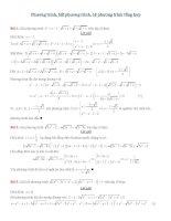 Phương trình, BPt, HPT tổng hợp