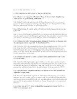 Tổng hợp câu hỏi Luật ngân sách nhà nước  Ôn thi công chức , có Đáp án