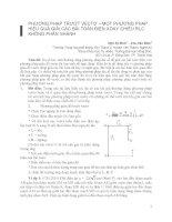 giải toán điện xoay chiều bằng phương pháp vecto