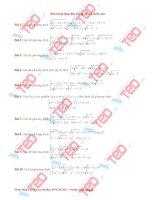 phương pháp hàm đặc trưng giải hệ phương trình