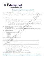 Tài liệu hướng dẫn viết luận Tiếng Anh ôn thi THPT quốc gia