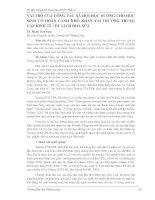 VAI TRÒ CỦA CÔNG TÁC XÃ HỘI HỌC ĐƯỜNG CHO HỌC  SINH   CÓ   HOÀN   CẢNH   KHÓ   KHĂN   TẠI   TRƯỜNG   TRUNG  CẤP KINH TẾ  DU LỊCH HOA SỮA