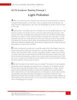 Bộ đề IELTS Academic Reading tuyển chọn ( có đáp án )