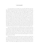CHẤT LƯỢNG vệ SINH AN TOÀN THỰC PHẨM và THỰC TRẠNG QUẢN lý CHẤT LƯỢNG vệ SINH AN TOÀN THỰC PHẨM ở nước TA HIỆN NAY