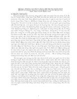NHỮNG GIÁ TRỊ và hạn CHẾ TRONG NHÂN SINH QUAN của PHẬT GIÁO và ẢNH HƯỞNG của nó TRONG xã hội VIỆT NAM HIỆN NAY