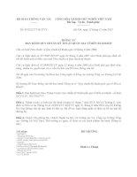 Thông tư 49/2012/TT-BGTVT về quy chuẩn kỹ thuật quốc gia về Bến xe khách