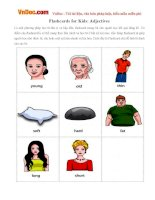 Flashcards for Kids: Adjectives