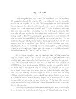 THỰC TRẠNG gây TRỒNG và TIÊU THỤ các sản PHẨM từ cây hồi TRÊN địa bàn HUYỆN văn LÃNG   LẠNG sơn