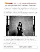 Học Tiếng Anh qua bài hát: Kill Em With Kindness - Selena Gomez