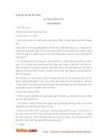 Soạn bài lớp 6: Sự tích Hồ Gươm