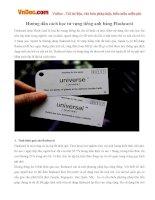 Hướng dẫn cách học từ vựng tiếng anh bằng Flashcard
