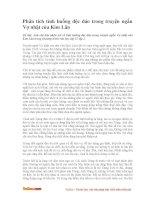Phân tích tình huống độc đáo trong truyện ngắn Vợ nhặt của Kim Lân
