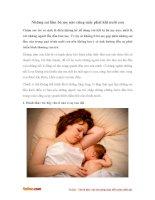 Những sai lầm bà mẹ nào cũng mắc phải khi nuôi con