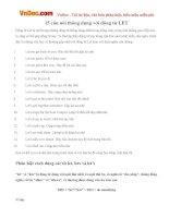15 câu nói thông dụng với động từ LET