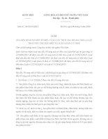 Luật sửa đổi Luật thuế giá trị gia tăng, Thuế tiêu thụ đặc biệt và Quản lý thuế số 106/2016/QH13