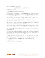 Soạn bài lớp 10: Tổng quan văn học Việt Nam