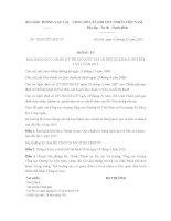 Thông tư 73/2015/TT-BGTVT Quy chuẩn kỹ thuật quốc gia về Bến xe khách Sửa đổi lần 1 năm 2015