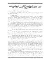 TỔ CHỨC kế TOÁN vật LIỆU tại CÔNG TY cơ KHÍ MAY GIA lâm