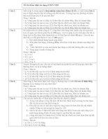 Đề thi thẩm định tín dụng KHDN SHB