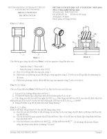 đề thi môn công nghệ chế tạo máy.( có đáp án)