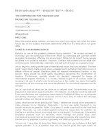 Đề thi tuyển dụng FPT – ENGLISH TEST a   đề số 2