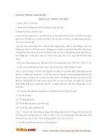 Soạn bài lớp 7: Mạch lạc trong văn bản