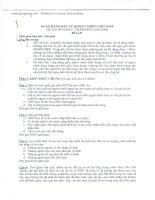 Đề thi chuyên viên tín dụng   BIDV 2006 2012