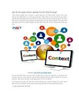 yếu tố nào giúp doanh nghiệp thu hút khách hàng