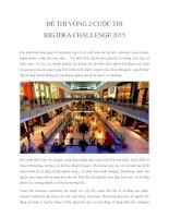 Đề thi Big Idea Challenge 2015 vòng 2