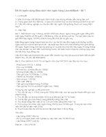 Đề thi tuyển dụng giao dịch viên ngân hàng lienvietbank   đề 1