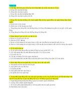 51 câu hỏi trắc nghiệm thi vào ngân hàng(có đáp án chi tiết)